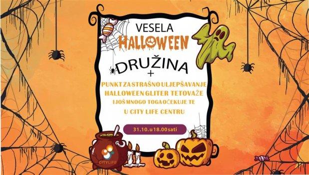 Halloween party u City Lifeu