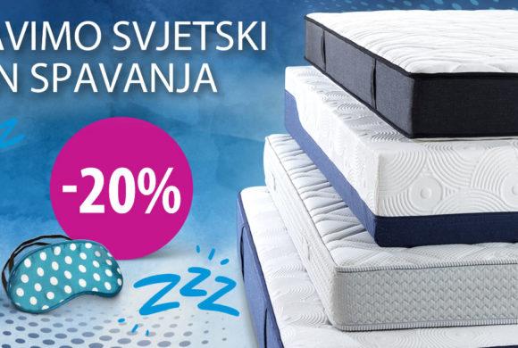-20% na Dormeo madrace u Top Shopu