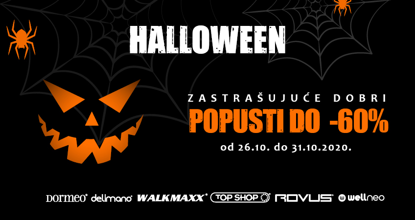 Halloween u Top Shopu uz popuste do -60%