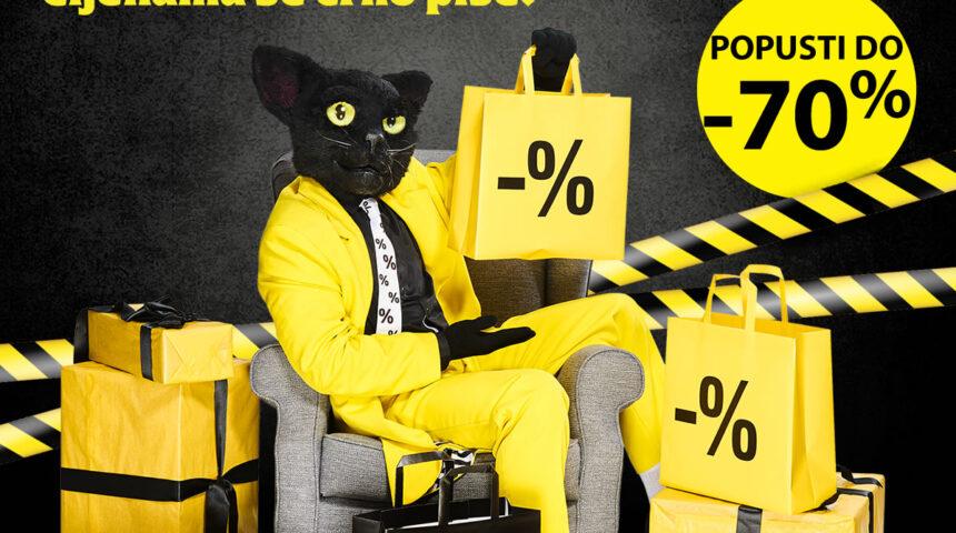 Crni petak u Top Shopu uz popuste do -70%