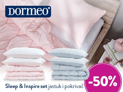 Top Shop: -50% na Dormeo Sleep&Inspire set
