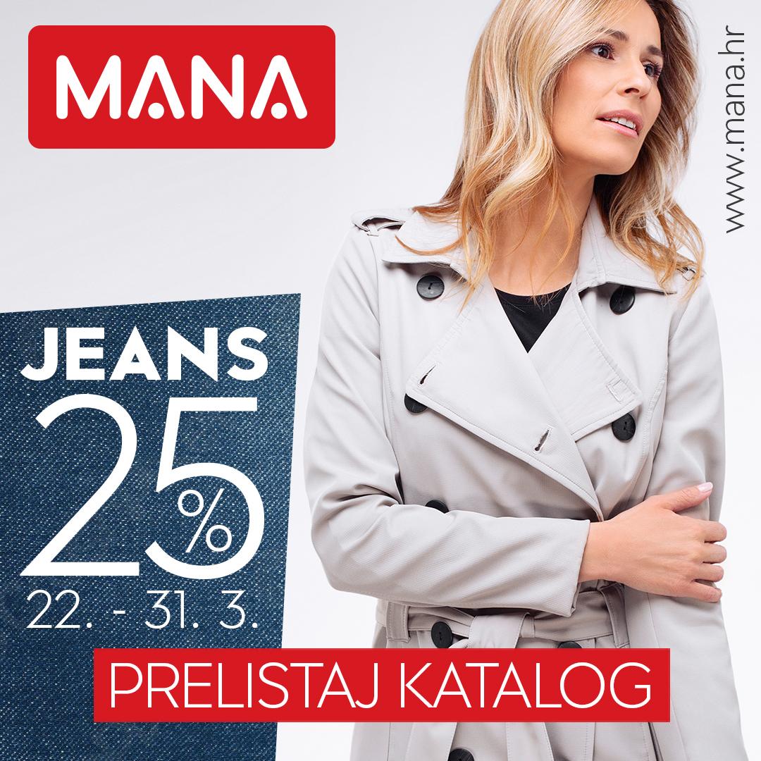 Izašao je novi MANA katalog, sa sniženim cijenama odjeće nove proljetne kolekcije!