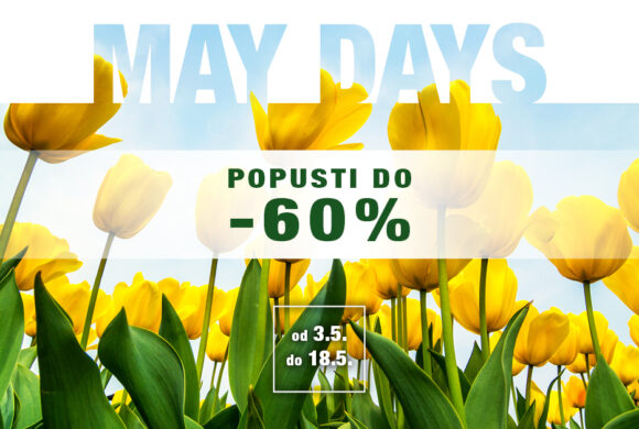 MAYDAYS – Proljetni shopping uz Top Shop
