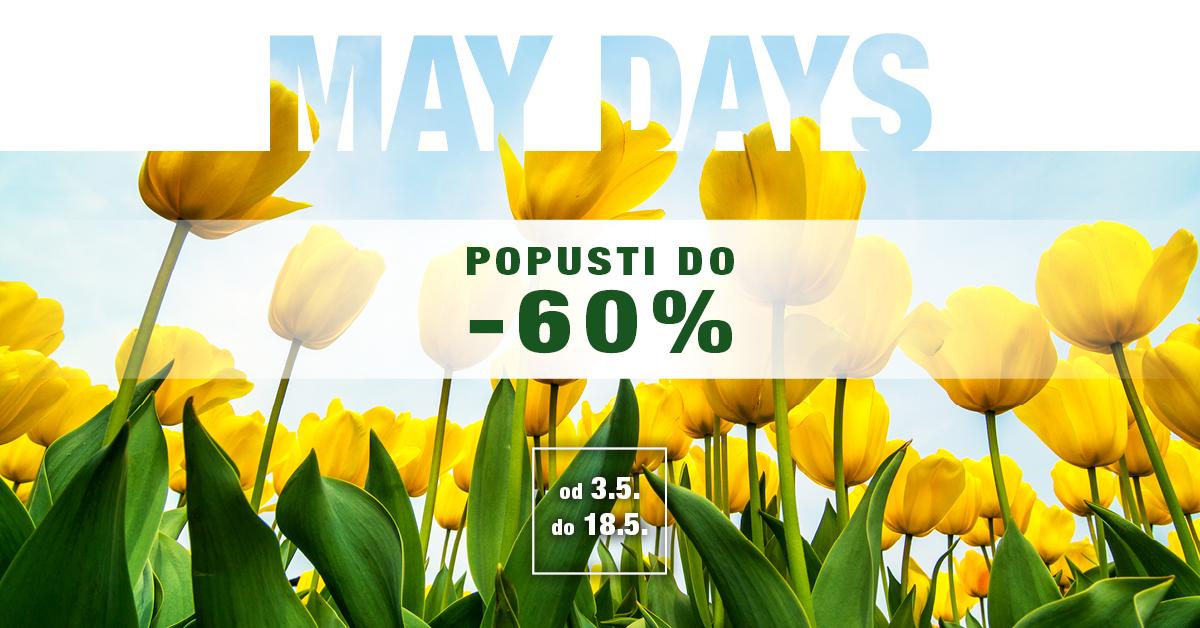 MAYDAYS – Proljetni shopping uz Top Shop