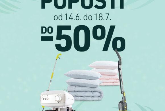 VRUĆI LJETNI POPUSTI – shopping  uz Top Shop