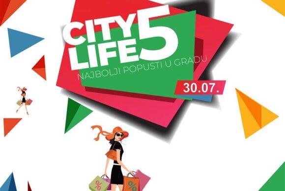 Shopping za 5 uz City5 popuste